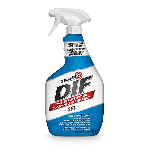 DIF Gel Ready to Use Wallpaper Stripper (Spray), 946 mL