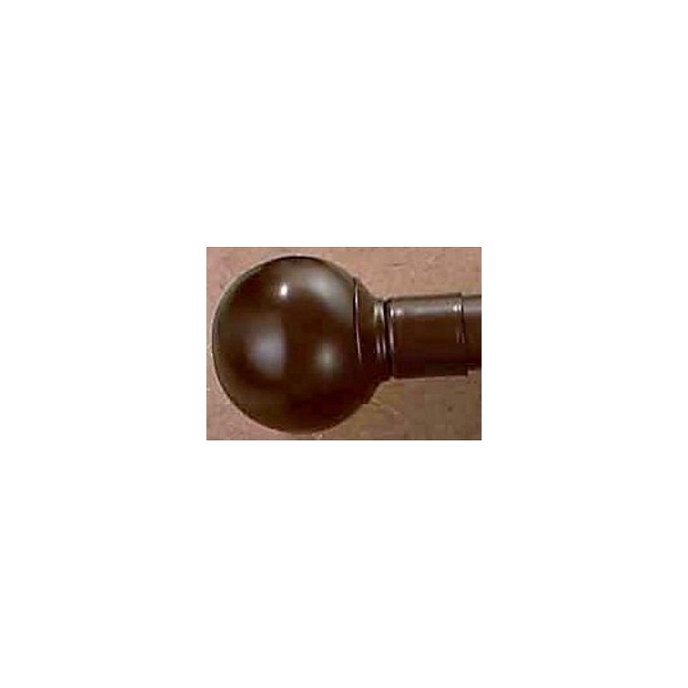 Grande Series 66 -inch - 120 -inch - Ball Finial Col. Ant Copper