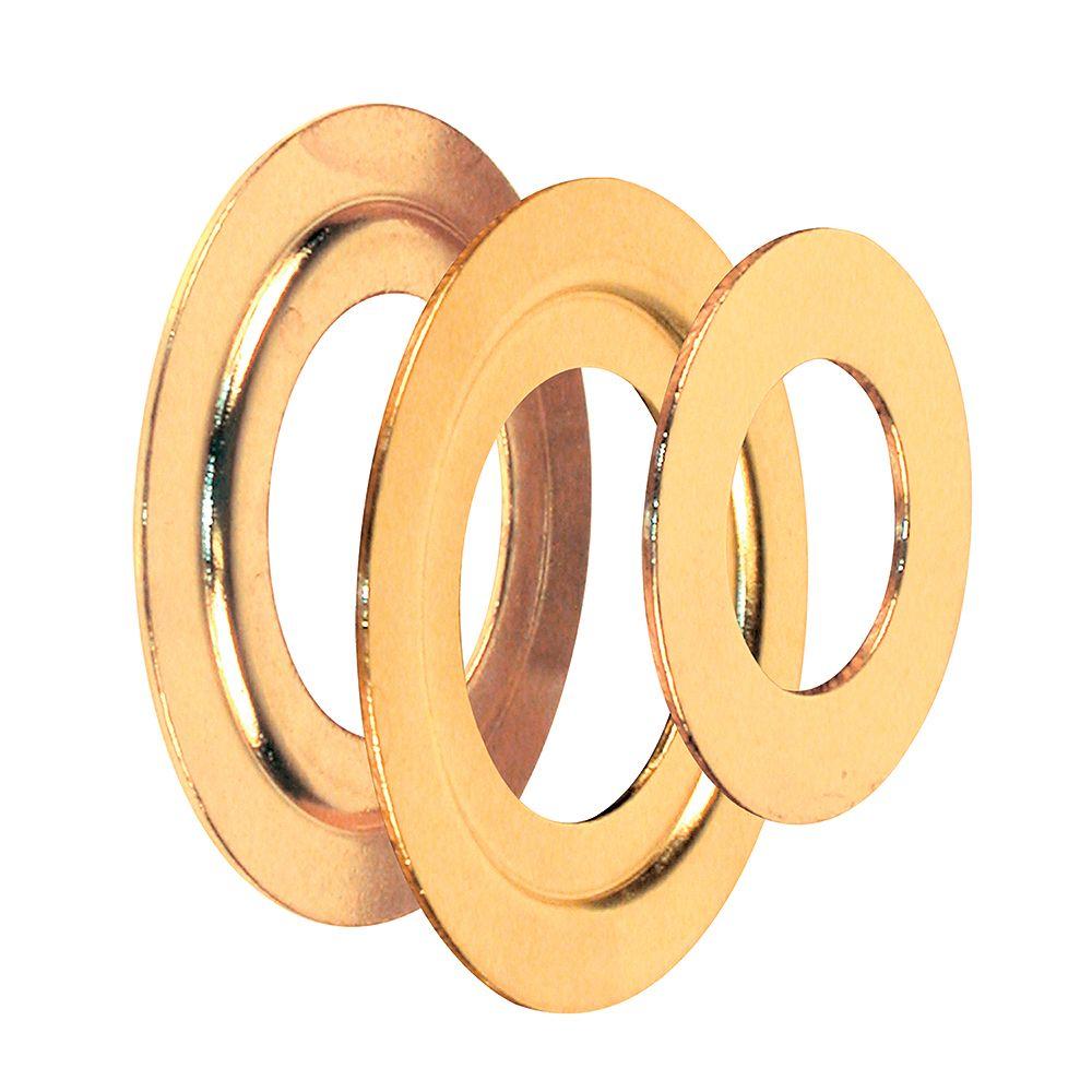 Prime-Line Ensemble d'anneaux réducteurs laitonnés (paquet de 2)