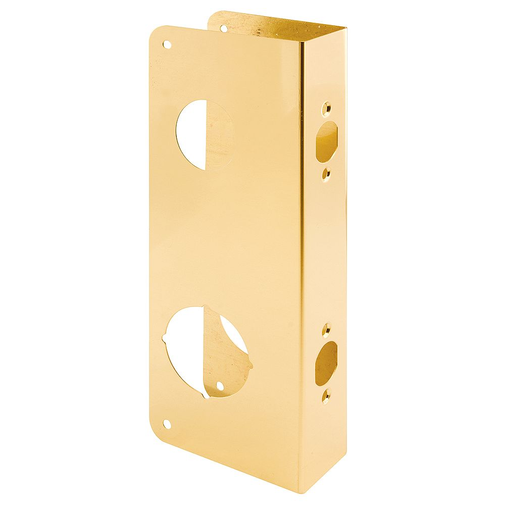 Prime-Line Armature porte de 1-3/4 po x 10-7/8 po, 2 logements 1-1/2 po et 2-1/8 po, distance d'entrée 2-3/4 po