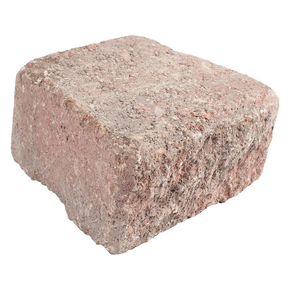Shaw Brick Antique Wedgestone - Red/Charcoal Capstone