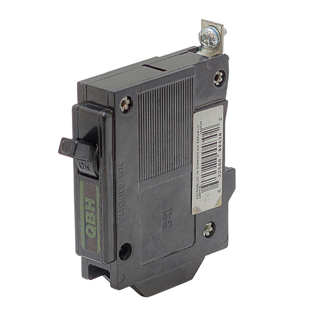Eaton Disjoncteur de remplacement avec fixation à boulon  - 1P 15A