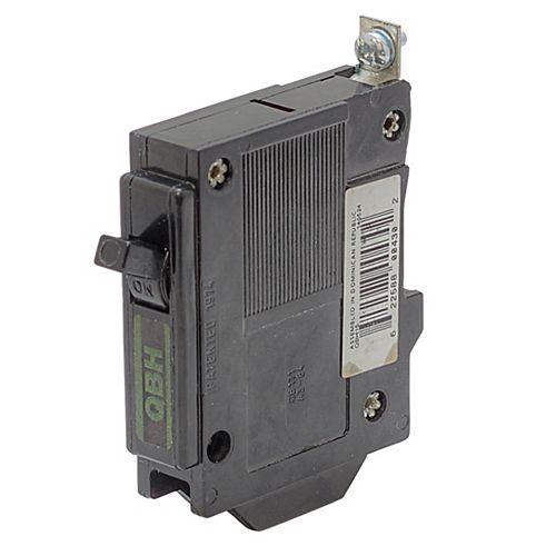 Disjoncteur de remplacement avec fixation à boulon  - 1P 20A