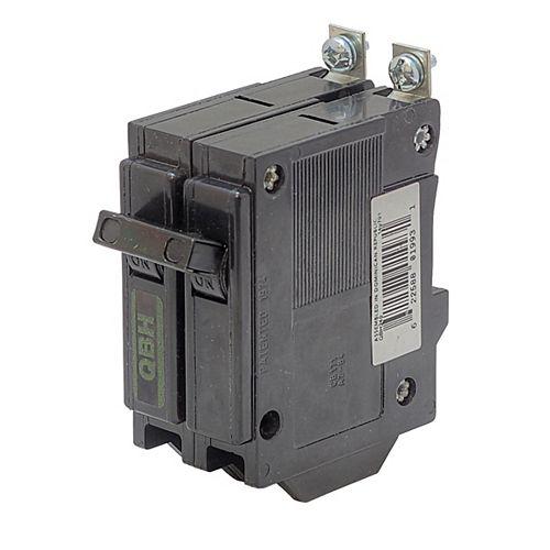 Disjoncteur de remplacement avec fixation à boulon  - 2P 15A