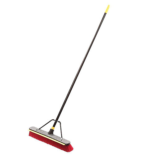 24 in. Bulldozer 2-in-1 Squeegee Push Broom