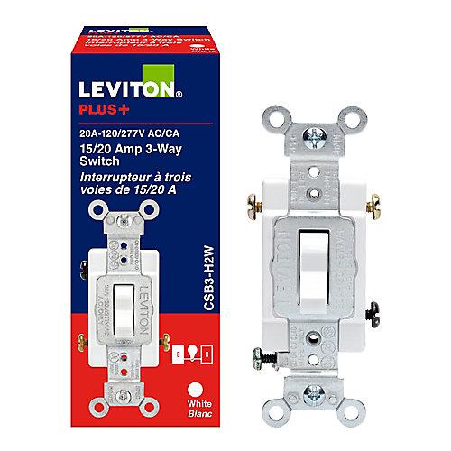 3 Way Switch 20 Amp  120/277v