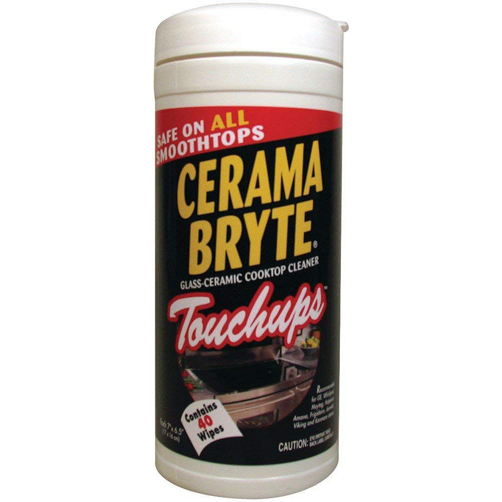 Ceramabryte 23635 Cooktop Touch-up Wipes, 40-ct with Residue Free