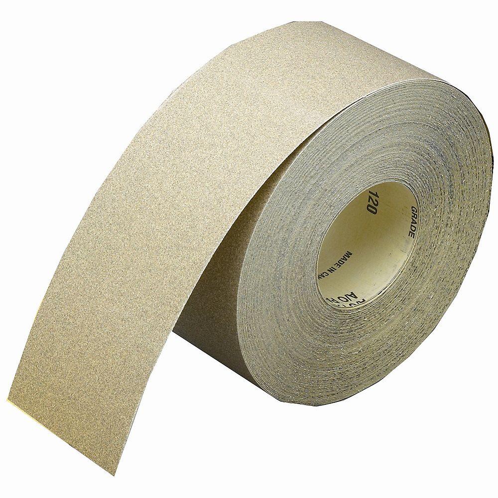 Norton Aluminum Oxide Drywall Sanding Roll 100 grit 3-1/2 inch x50 yds.