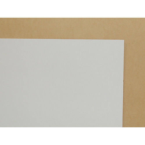 1/4 Inch 2 Feet x 4 Feet White Hardboard Handy Panel