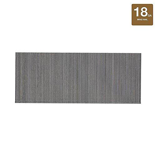 2-inch x 18-Gauge Glued 5M Steel Brad Nails (5000-Pack)