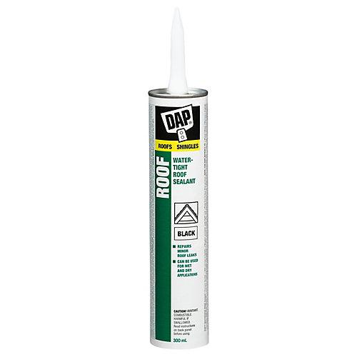 Scellant à l'épreuve des intempéries pour toitures - Noir - 300 ml