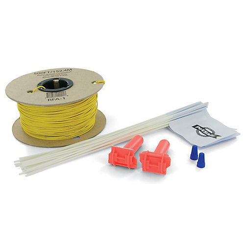 Wire and Flag Kit For Adding On To In-ground Radio Fence Pet Containment System