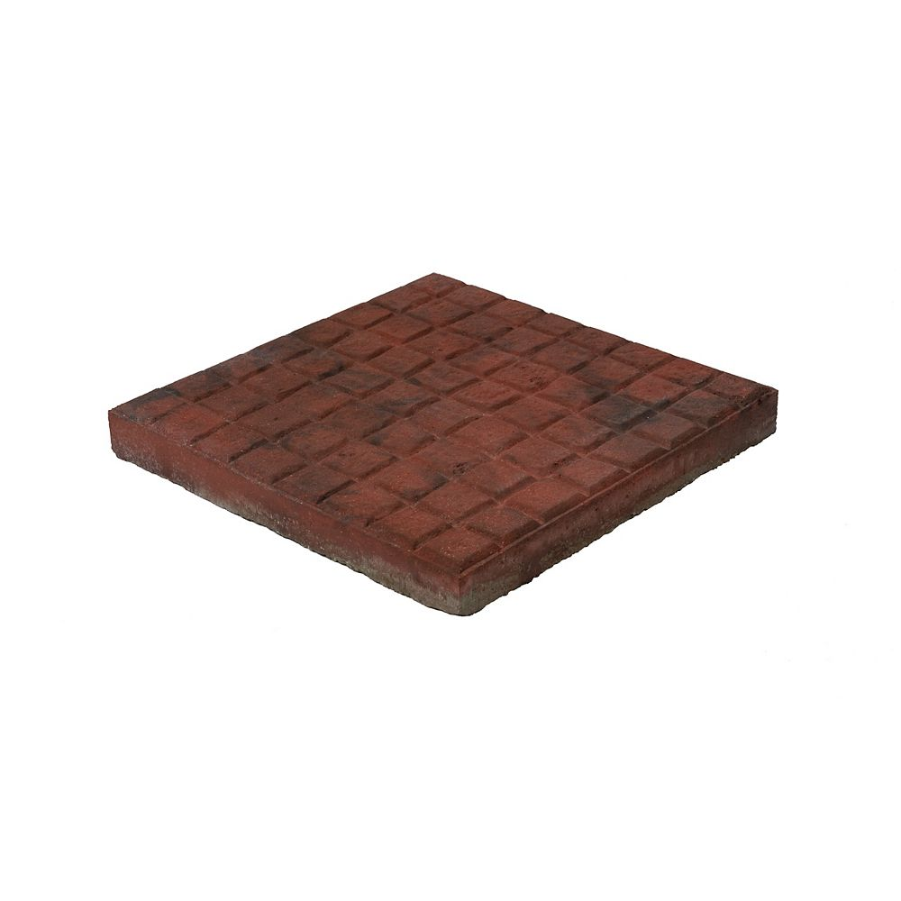 Barkman Rustic Red, Cobble Dynasty Slab - 16 Inch x 16 Inch