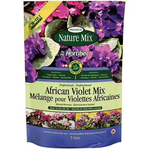 African Violet Mix - 5 Litre