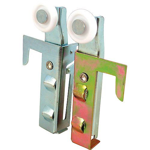 7/8 in. Panel Wardrobe Door Roller Assembly, Acme (1-pair)