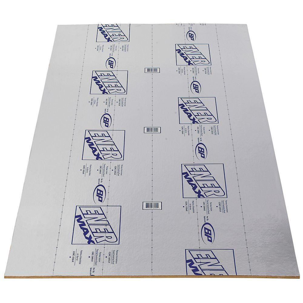 BP Enermax Insulation 1/2 inch x 4 ft. x 8 ft.1 inch