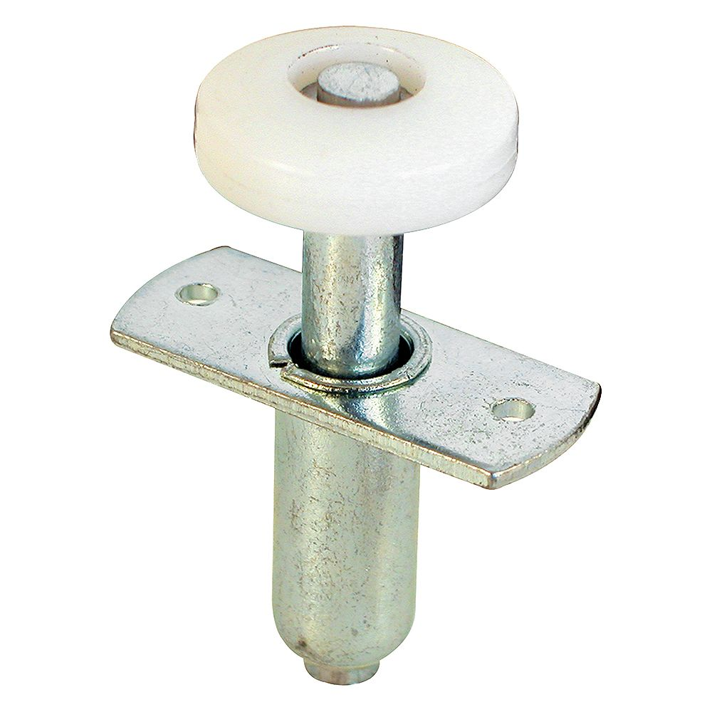 Prime-Line Roulette de guidage à ressort pour porte pliante (paquet de 2)