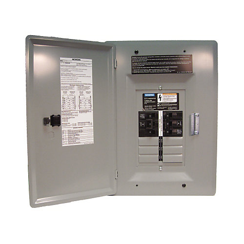 6/12 Circuit 30A 120/240V Generator Panel