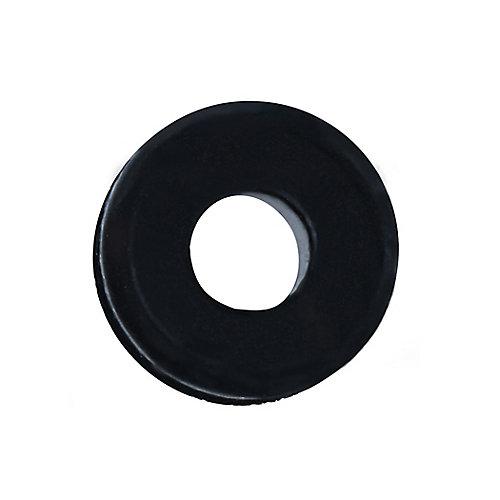 1/4 rondelles isolantes en caoutchouc