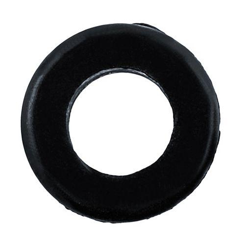 1/2 rondelles isolantes en caoutchouc