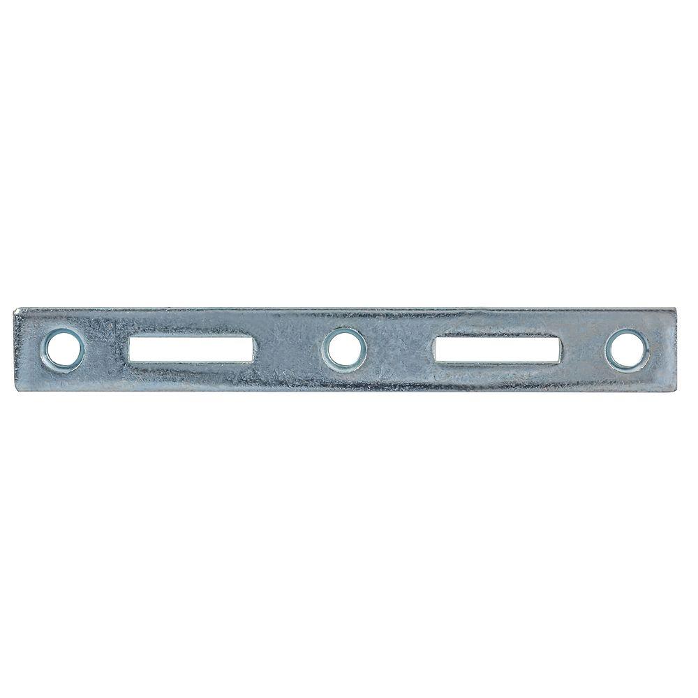 Paulin 6-inch Steel Bed Rail Fasteners Female Zinc Plated