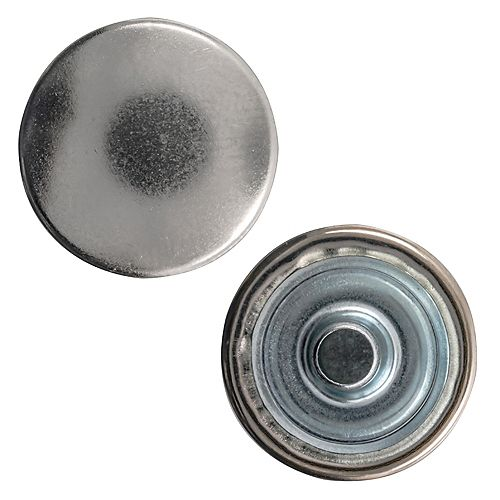 3/8-inch Snap Cap Nickel Plated Brass