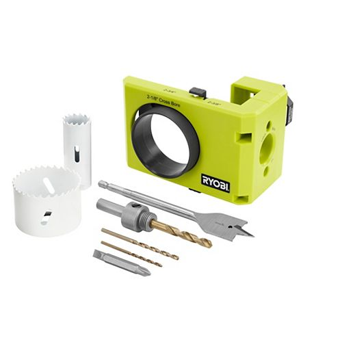 Wood/Metal Door Lock Installation Kit