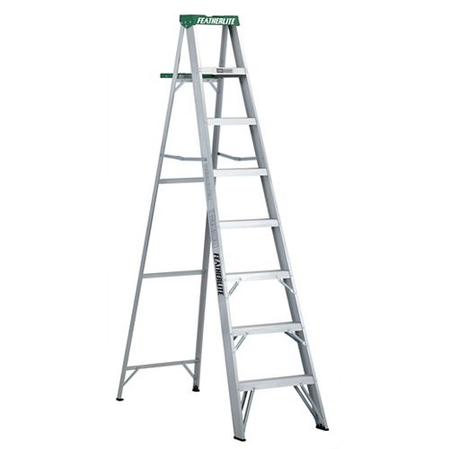 Featherlite Aluminum step ladder 8 Feet  grade II