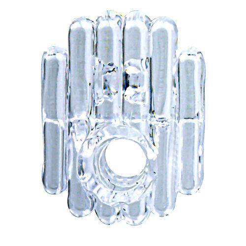 Pinces plastique pour miroir