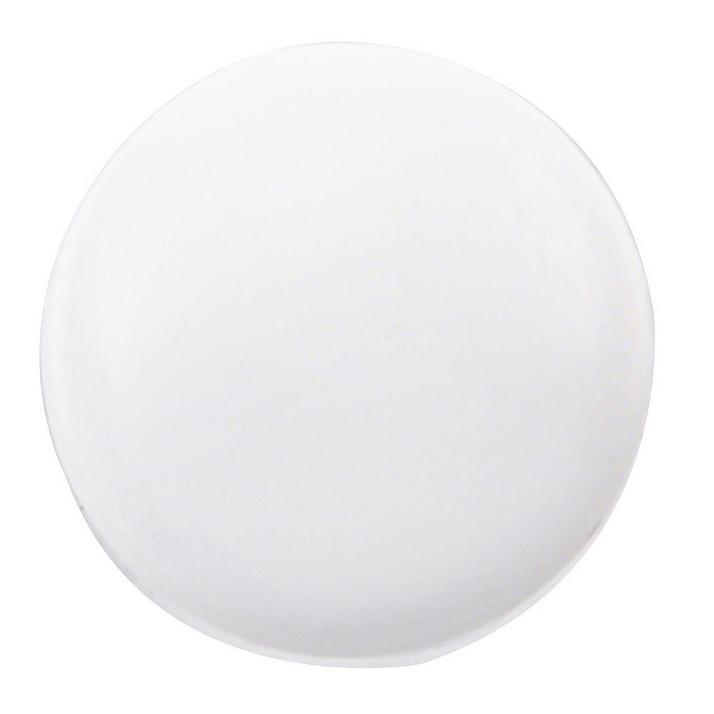 Paulin #6-8 Capsule à pression en plastique blanche