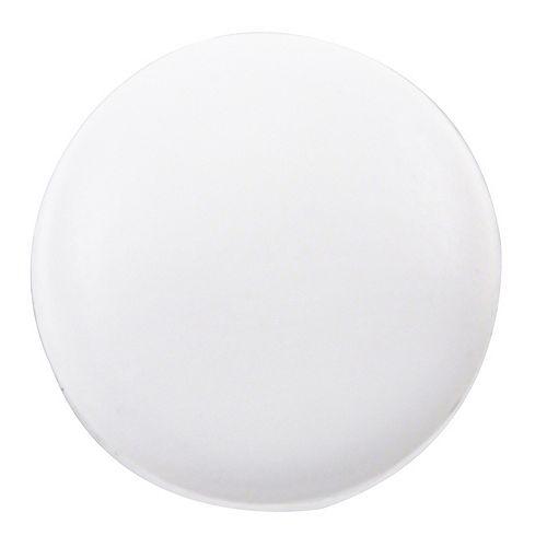 #6-8 Plastic Snap Cap in White
