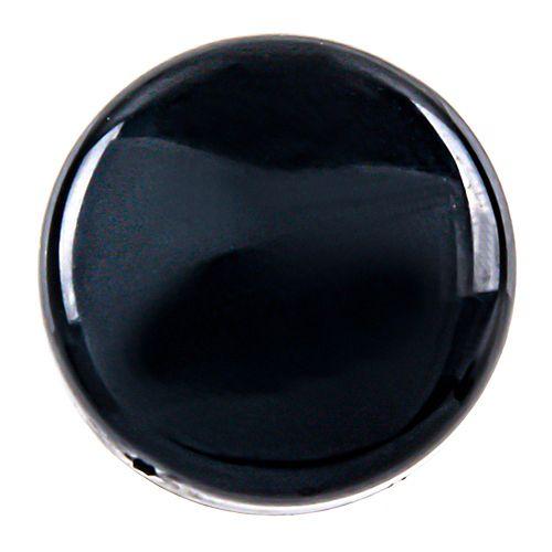 6-8 Snap Caps Black