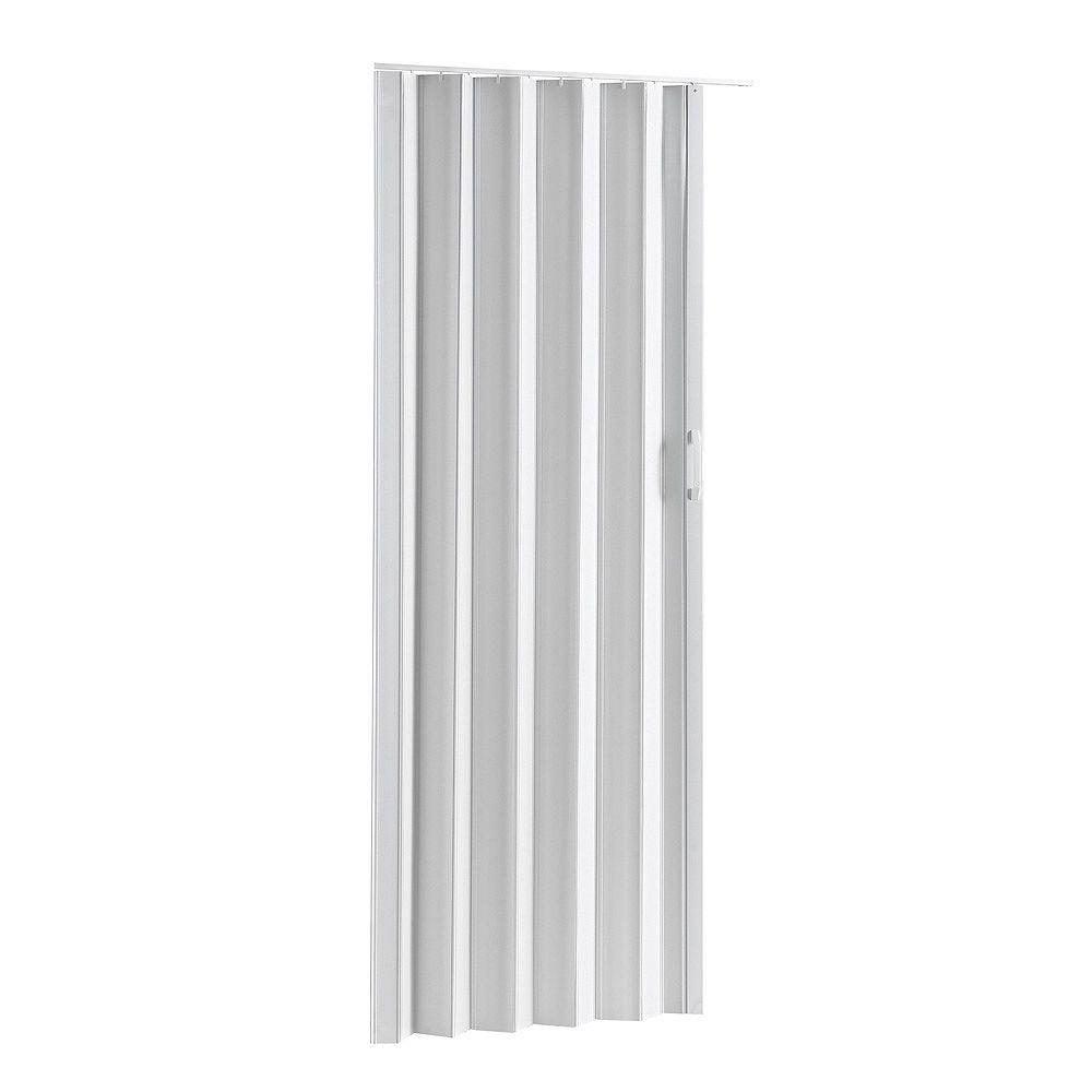 Spectrum Folding Door - Via White 36 inch-48 inch X 80 inch