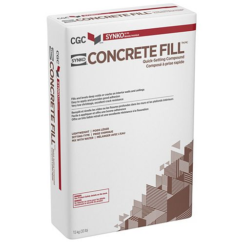 CGC Concrete Fill Wall and Ceiling Compound, 15 kg Bag