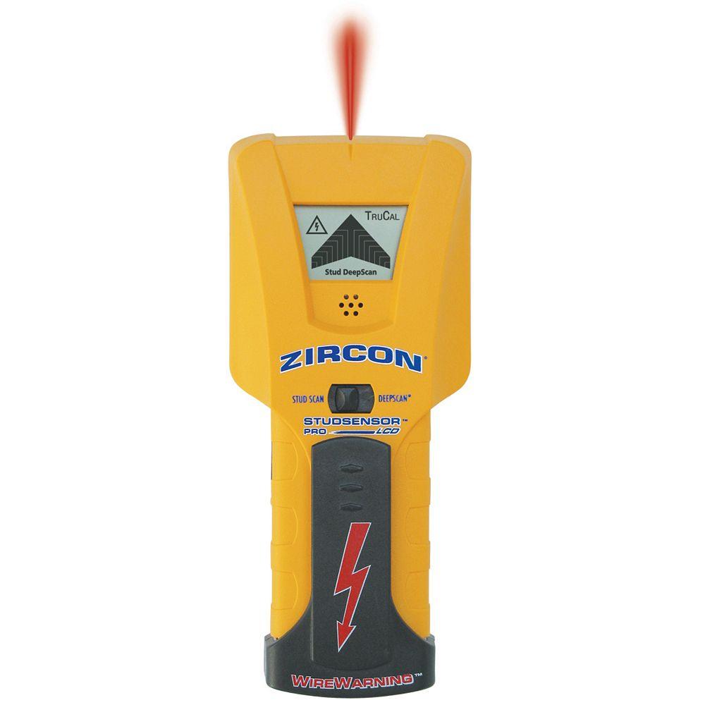 Zircon Studsensor Pro Lcd Deepscan Stud Finder The Home Depot Canada