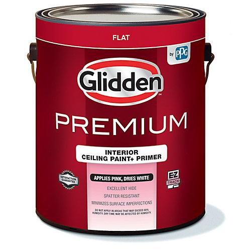 Premium EZ Track Pink To White Ceiling Paint + Primer 3.78 L