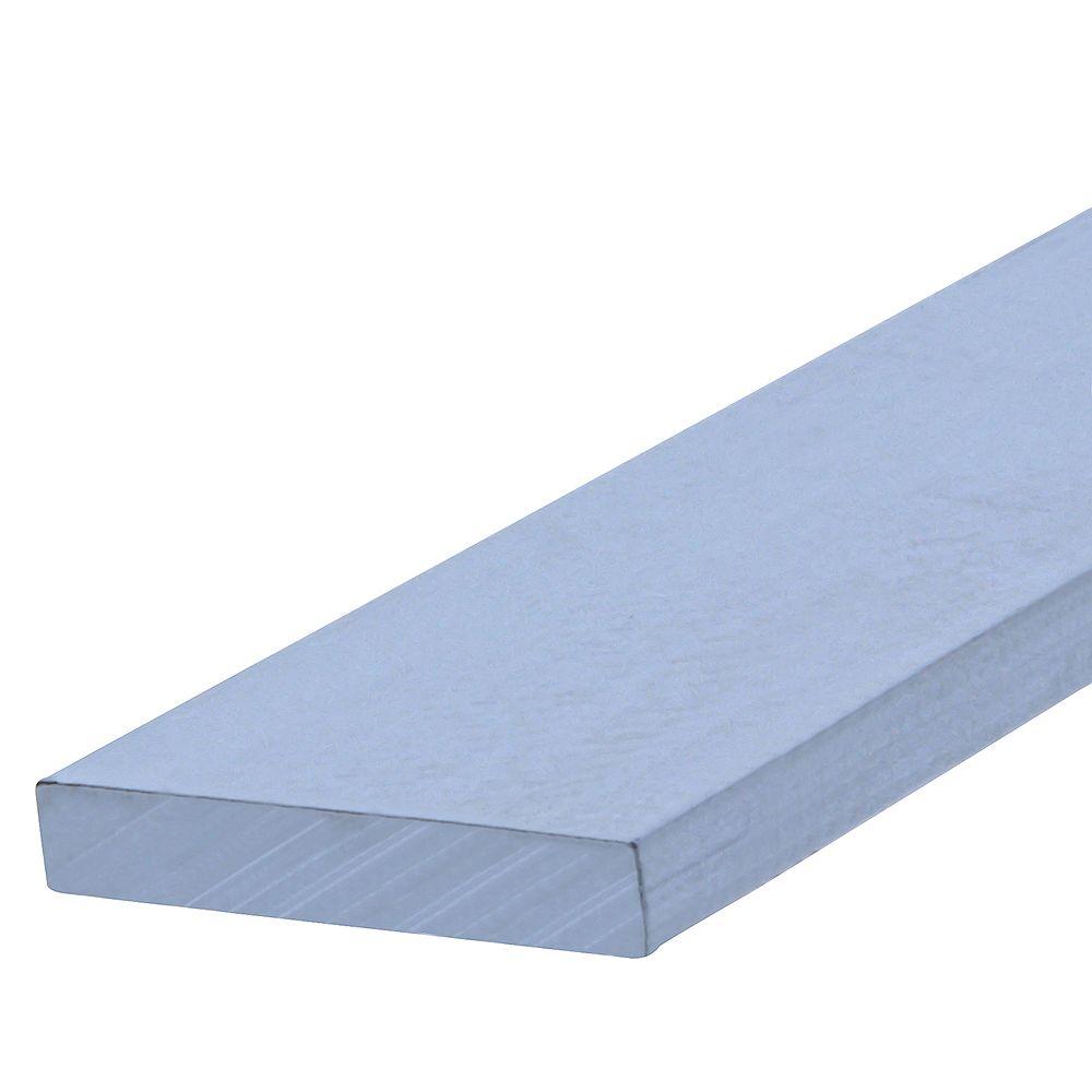 Paulin 3/4 x 36 x 1/8-inch Aluminum Flat