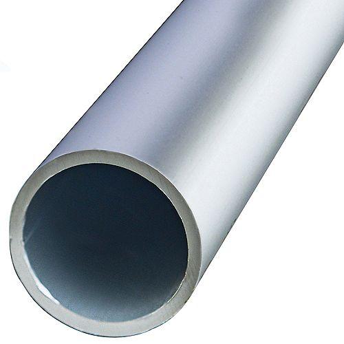 1 x 36-inch Aluminum Round Tubing