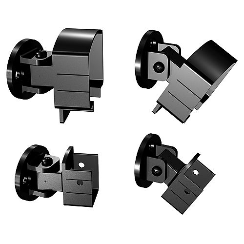 Aluminum Universal Connector in Black