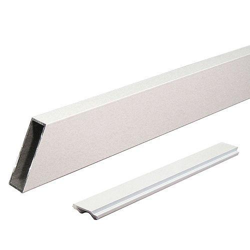Peak Products Pieu d'escalier large individuel - Blanc