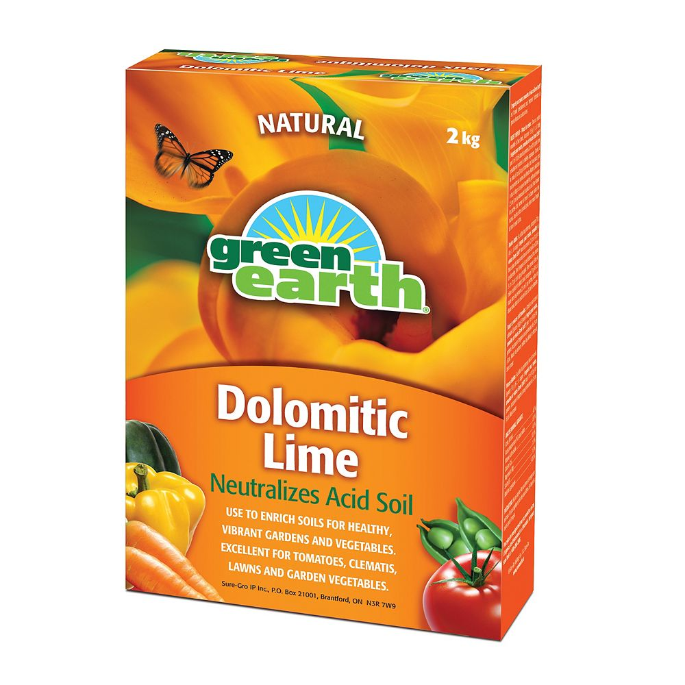 Green Earth 2 kg Dolomitic Lime