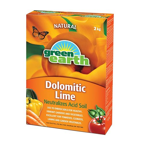 2 kg Dolomitic Lime
