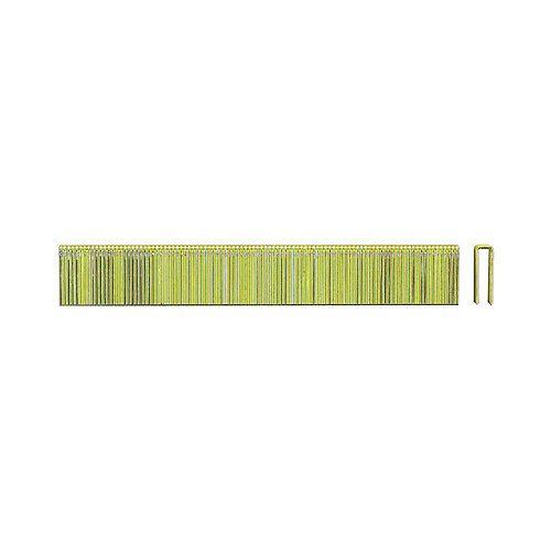 PORTER-CABLE Agrafe de calibre 18 x 3/4 de pouce pour couronnes étroites 5000 par boîte