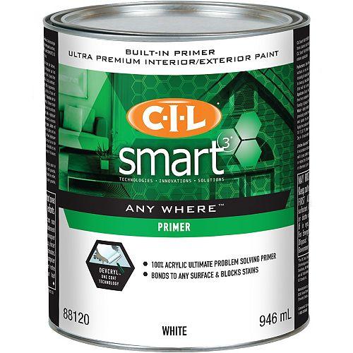 CIL Smart3 Anywhere Primer Quart
