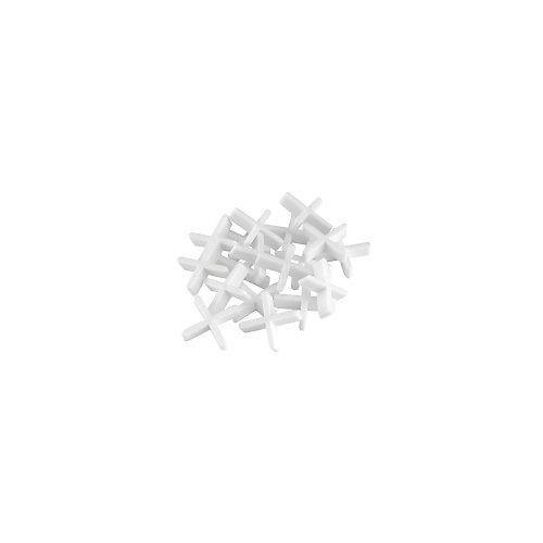 Cale d'espacement de 1/16 po, sac de 250 pièces