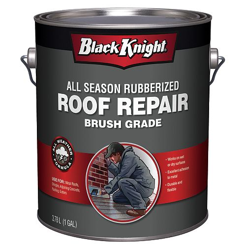 3.78L All Season Rubberized Premium Roof Repair Sealant