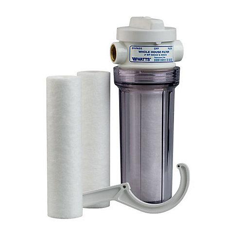 Système de filtration standard pour la maison avec 2 filtres de remplacement