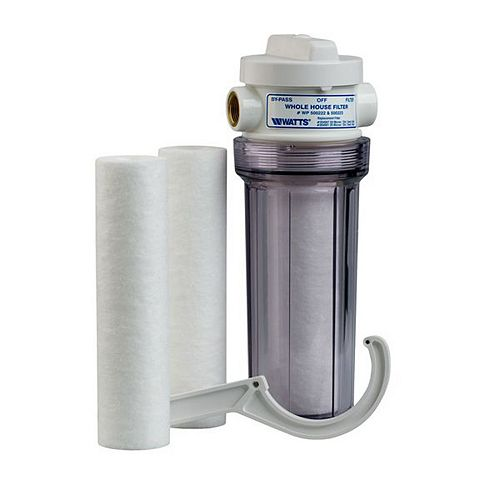 Whole House Clear Standard Filtration System with 2 Replacement Filters