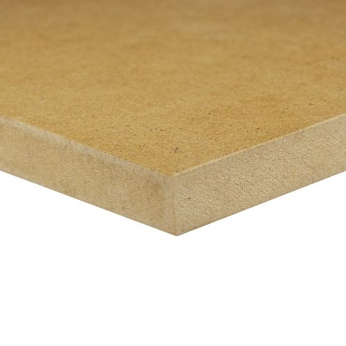 Alexandria Moulding 1/2-inch 2 Feet x 4 Feet Medium Density Fiberboard (MDF) Handy Panel