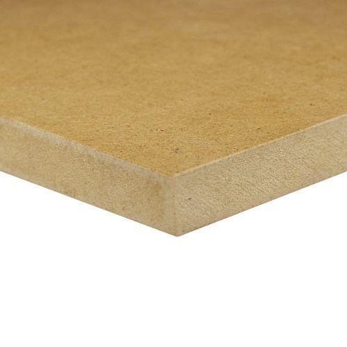Panneau de fibres de bois MDF _  1/2 po x 4 pi x 4 pi